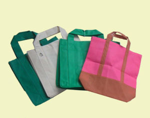 OEM PP Nonwoven Shopping Bag pictures & photos