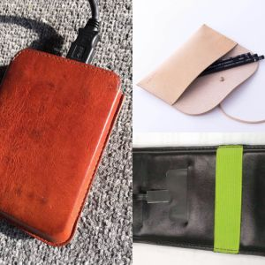 Leather Power Case