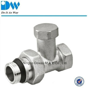 Manual Radiator Valve with Rubber Seals pictures & photos