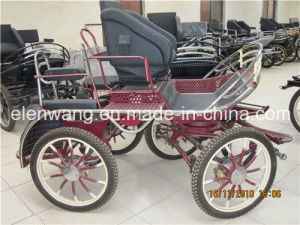 Marathon Horse Carriage with Steel Body Construction (GW-HC011-1#) pictures & photos