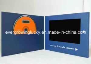 LCD Video Brochure Card with HD Screen for Advertising pictures & photos