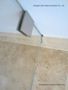 Shower Door Drlling Holes Tempered Glass with Ce and SGCC pictures & photos
