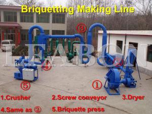Production Line for Barbecue Charcoal Machine pictures & photos