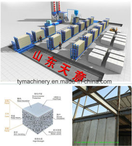 Production Line for Making EPS Cement Sandwich Wall Panel pictures & photos