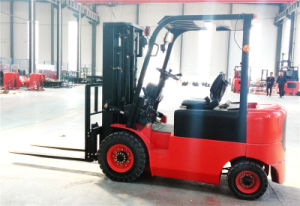 2.5ton Electric Forklift Truck with Good Quality and Competitive Price