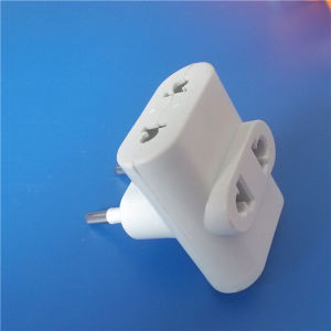 South America One Transfer to 3 Way Plug (RJ-0299) pictures & photos