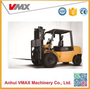 5ton Automatic Diesel Forklift with Tcm Technology pictures & photos