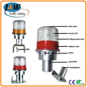 Solar Warning Lights for Traffic Cone with CE Certificate pictures & photos