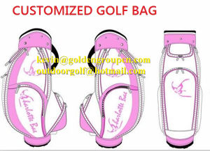 PU Golf Caddy Bags Custom Golf Bags pictures & photos