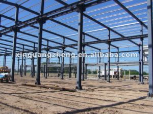 Steel Frame EPS Cement Sandwich Panel Steel Structure Building pictures & photos