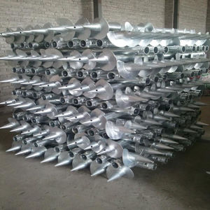 China Helical Piled Foundations Screw Piles or Earth Anchors pictures & photos