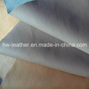 Microfiber PU Leather for Shoes, Car Seat Cover (HW-1256) pictures & photos