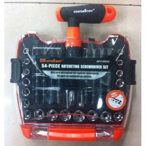 54PC Ratchet Screwdriver Set Tools Set pictures & photos