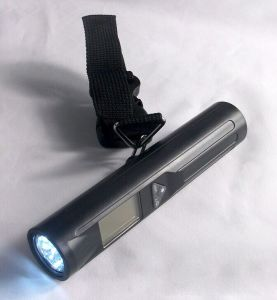40kg Digital Luggage Scale with LED Torch pictures & photos