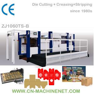 Zj1060ts-B Carton Paper Board Die Cutter Machine, Higher Precision Than Rotary Die Cutter pictures & photos