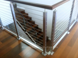 Outdoor Top Quality 316 Stainless Steel Cable Railing/Cable Balustarde for Terrace pictures & photos