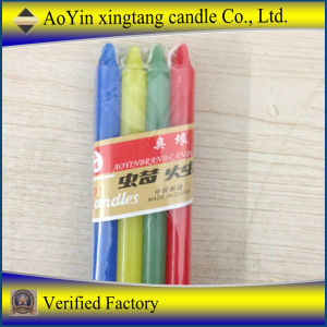 National Colors Stick Candles/Long Burning Time Colors Candle pictures & photos