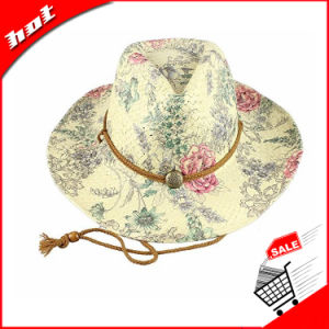 Printing Paper Straw Hat Cowboy Hat pictures & photos