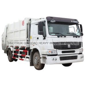 Cnhtc HOWO Garbage Refuse Truck 10m3 pictures & photos