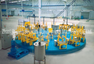 RT Series Rotary Table PU Foaming Line pictures & photos