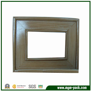 Handmade Rectangle Simple Brown Wooden Picture Frame pictures & photos