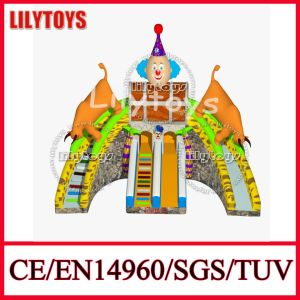 2016 Amazing Animal Design Giant Inflatable Slide Inflatable Slide Playground Comercial Slide (Lilytoys-New-011)