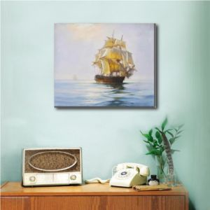 Classical Sailing Ship on Canvas Painting pictures & photos