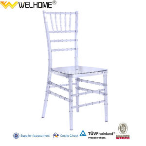 Clear Color Resin Stackable Chiavari Chair for Party/Event pictures & photos