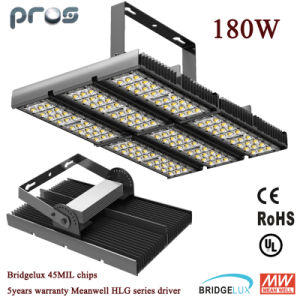 Pf>0.95 180W LED Tunnel /Flood Light with Meanwell Driver pictures & photos