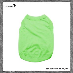 Pet Puppy Shirt Spring Summer Dog T-Shirts Spt6003-3 pictures & photos