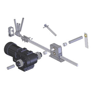 Hot Selling Greenhouse Rack and Pinion for Ventilation