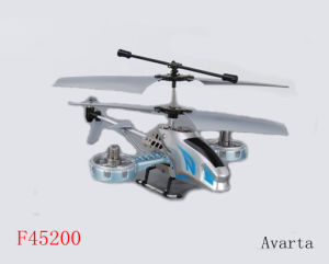 4channel ABS a Fan Da R/C Helicopter Model Toys (F45200)