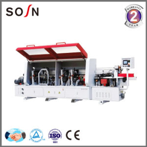 Woodworking Machinery PVC Edge Banding Machine with Corner Rounding pictures & photos