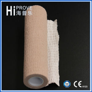 High Quality Cotton Cohesive Elastic Crepe Bandage pictures & photos