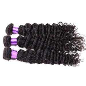 Brazilian Virgin Hair 6A Brazilian Deep Wave 3PCS Weave Beauty Brazilian Deep Curly Hair Cheap Virgin Brazilian Curly Hair pictures & photos