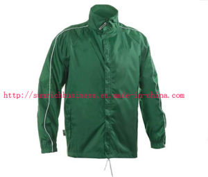 Men Polyester Rain Jacket (Y4) pictures & photos