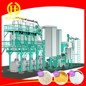 China Turnkey Project Quality Line 50tpd Maize Flour Mill pictures & photos