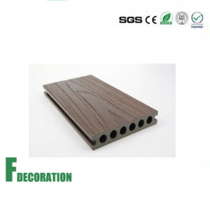 138*23mm C0-Extrusion WPC Decking pictures & photos
