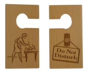 Wholesale New Custom OEM Wood Door Hanger pictures & photos