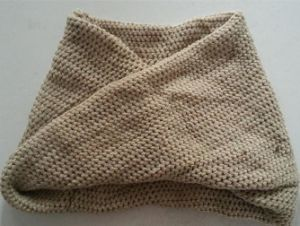 Winter Warm Knit Scarf (FB-90521) pictures & photos