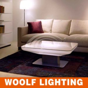 LED Rectangle Modern Living Room Coffee Table pictures & photos