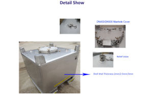 1000 Liter Stainless Steel IBC Tote Tank for Sale pictures & photos