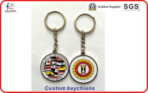 Soft Enamel Sliver Palted Keyrings Keychains pictures & photos