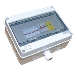Best Price Economical Model 5 Input 2 Output DC Combiner Box for 400V DC System pictures & photos