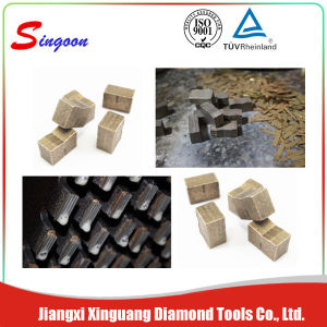 Diamond Multi-Saw Blades and Segments for Granite Block Cutting pictures & photos