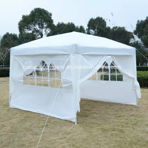 10X10FT Marquee Party Tent Wedding Tent/Pavilion Easy Pop Tent with Sidewalls pictures & photos