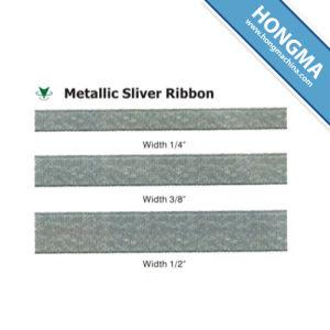 Decorative Wholesale Metallic Silver Ribbon