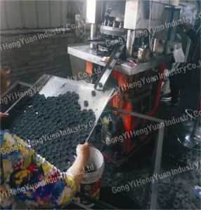 Professional Customize Rotary Hookah Small Charcoal Briquette Making Machine pictures & photos