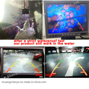 Univesal HD Waterproof Mini Reversing Car Camera for Front View/Rear View Waterproof pictures & photos