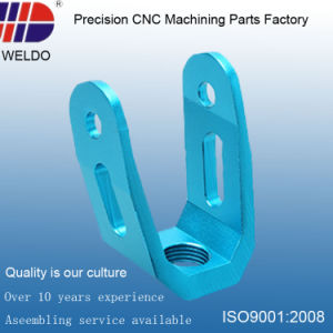 Customized Blue Anodize Precision Aluminum CNC Milling Machinery Parts pictures & photos